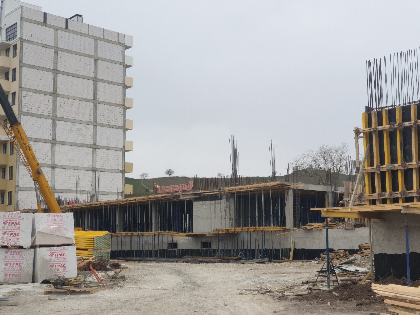 Ход строительства - Жемчужина Боспора -2020 март